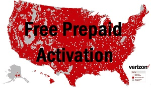 Verizon Coverage Map Free Prepaid Activation
